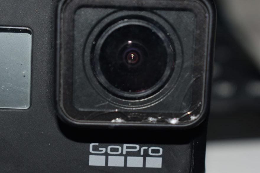 Gopro レンズ 交換前